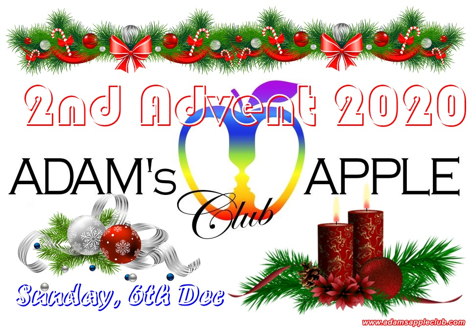 2nd ADVENT 2020 Sunday 6th December 2020 @ Adam's Apple Club Chiang Mai Adult Entertainment Nightclub