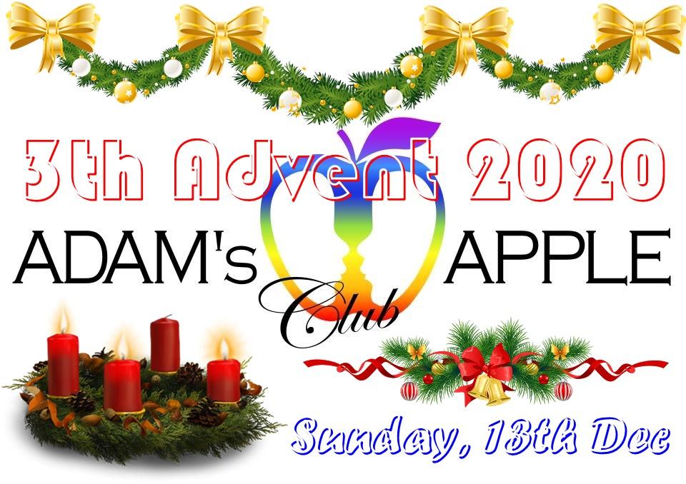 3th Advent 2020 Adams Apple Club Chiang Mai Adult Entertainment Gay Host Bar Nightclub with Ladyboy Liveshows Cabaret Kathoy