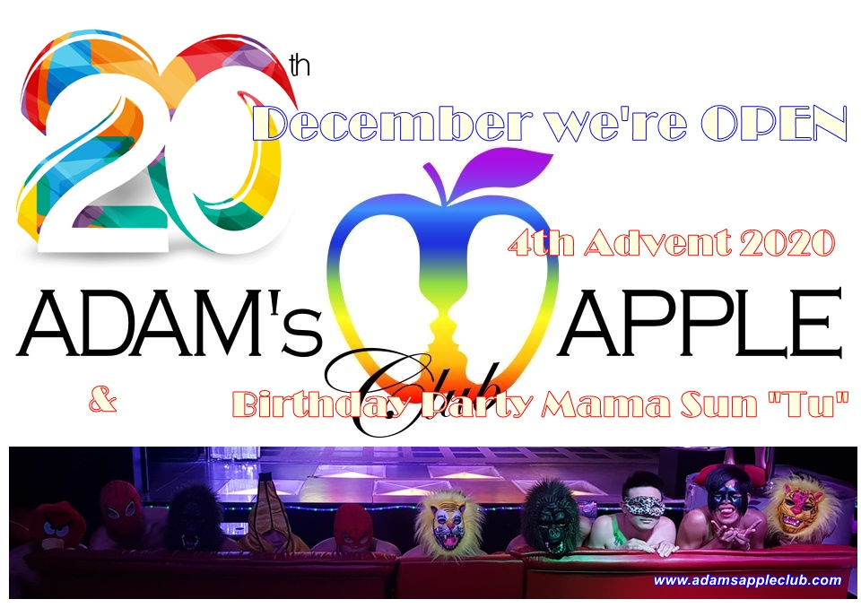 Host Club Adams Apple Club for Adult Entertainment in Chiang Mai Don't miss our wonderful unique Ladyboy Cabaret Performance and Asian Boy Shows in town