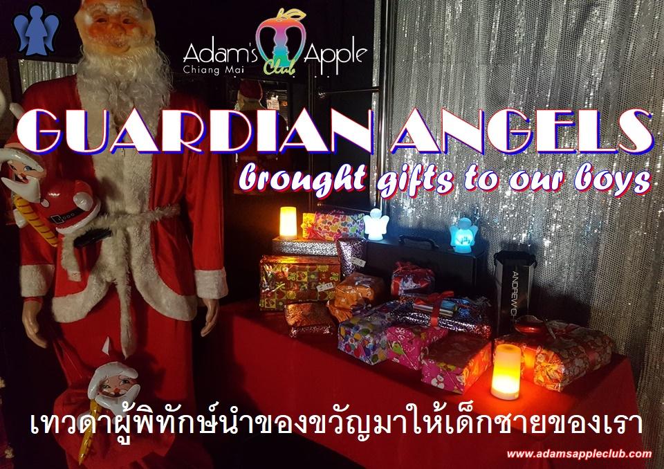 GUARDIAN ANGELS brought gifts to our boys เทวดาผู้พิทักษ์นำของขวัญมาให้เด็กชายของเรา