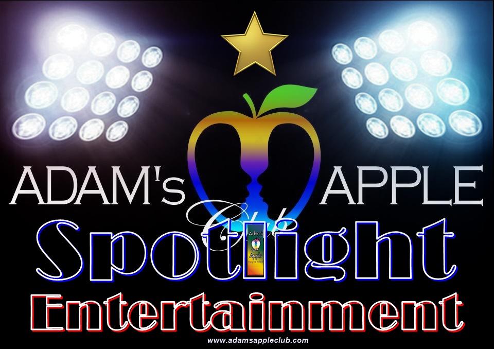 Spotlight Entertainment Bar Adams Apple Club Chiang Mai Ladyboy Liveshows men entertain men Nightclub บาร์โฮสสันติธรรม บาร์เกย์เชียงใหม่ Host Club