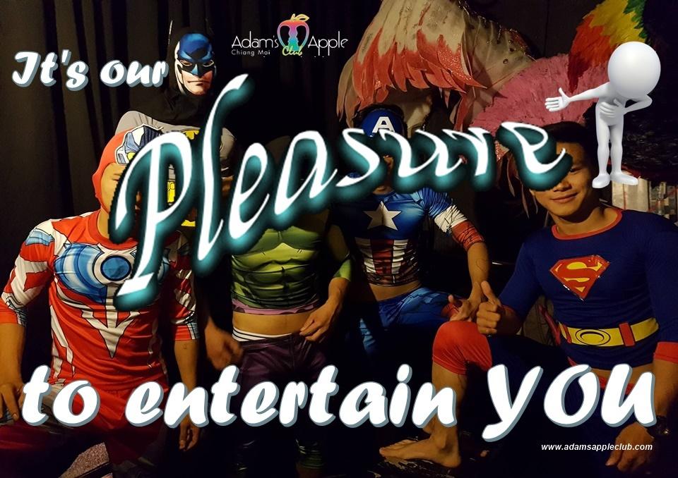 We providing pleasure and amusement! Adult Entertainment Chiang Mai Ladyboy Liveshows Asianboy Thaiboy Nightclub Kathoy Cabaret Host Bar Gay Club