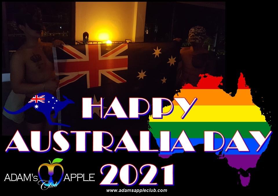 HAPPY AUSTRALIA DAY 2021 Adams Apple Club Chiang Mai
