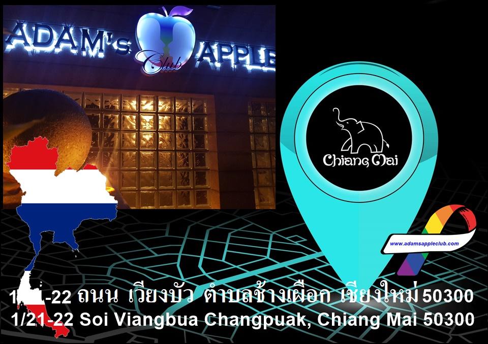 Chiang Mai Gay Places and Gay Scene Adams Apple Club Adult Entertainment Nightclub with Ladyboy Liveshows Go-Go Boys Host Club Bar Gay