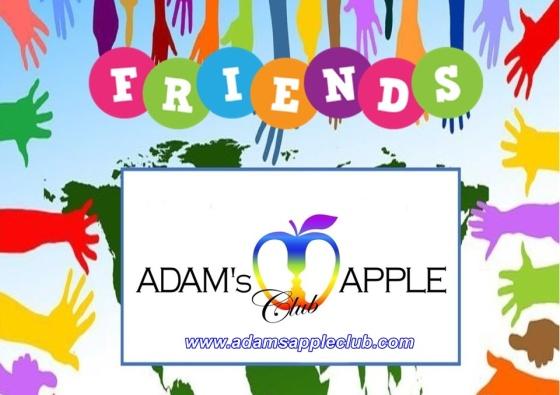 Friends of Adams Apple Club Chiang Mai Gay Bar and Nightclub Host Bar - Gay Club - Clubbing - Nightclub - Nightlife - Night Spot - Entertainment - Gay Scene