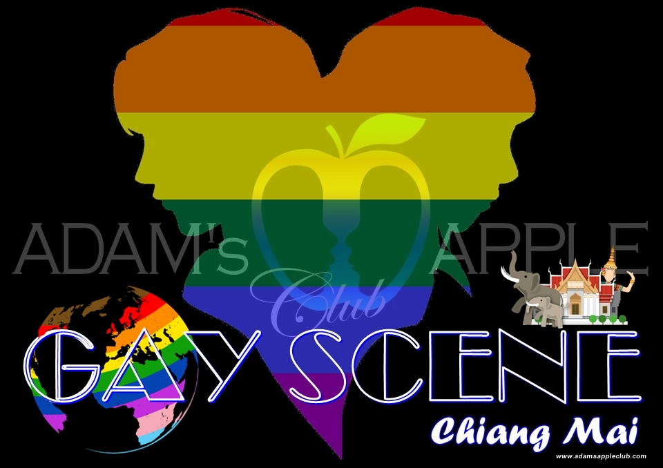 GAY SCENE Chiang Mai GAY LIFE Adams Apple Club Adult Entertainment Nightlife with Ladyboy Liveshow Asian Boys Host Bar Gay Club Go-Go Boy LGBTQ