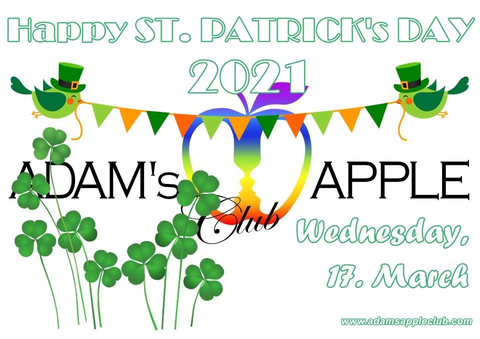 Happy ST. PATRICKs DAY 2021 Adams Apple Club Chiang Mai Nightclub