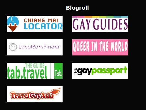 LINKS to us on the internet Gay Bar Chiang Mai Adams Apple Club Nightclub Host Bar Adult Entertainment Social Media Go-Go Bar บาร์โฮสสันติธรรม