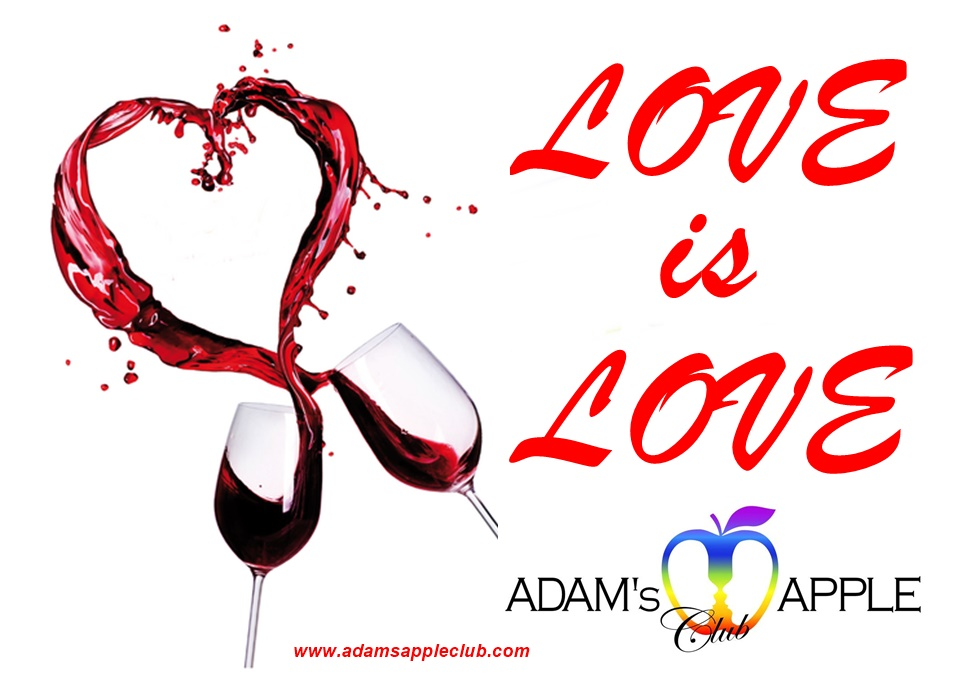 LOVE is LOVE Adams Apple Club Chiang Mai Gay Bar Nightclub
