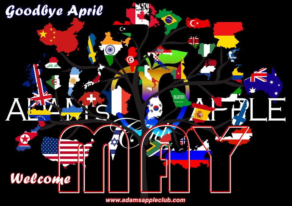 WELCOME MAY 2021! Goodbye April! Admas Apple Club Chiang Mai Adult Entertainment Nightclub Go-Go Bar Host Bar Thai Boy Liveshow Cabaret