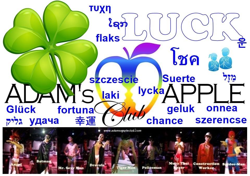 LUCK Adams Apple Club Chiang Mai Adult Entertainment Gay Bar