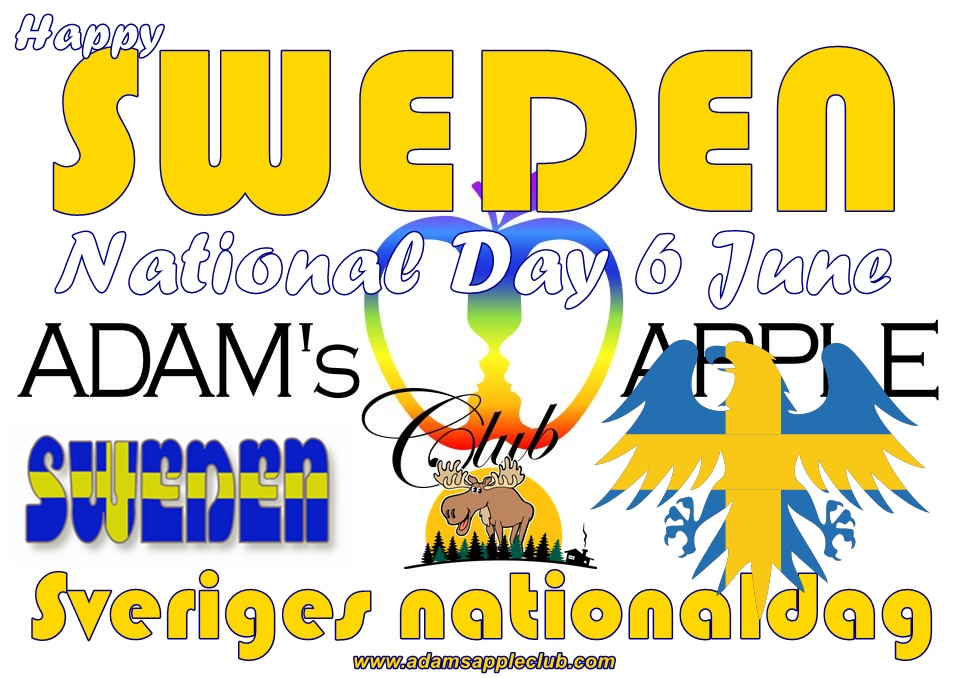 Sweden National Day 2021 Adams Apple Club Chiang Mai Adult Entertainment