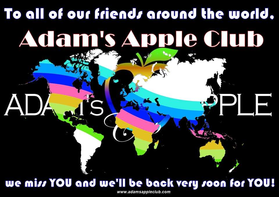 To all of our friends around the world we miss YOU and we'll be back very soon for YOU